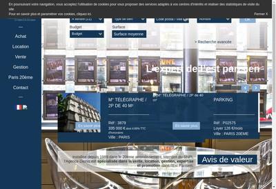 Site internet de Agence Dionis