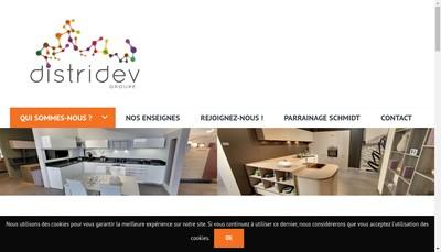 Site internet de Distridev