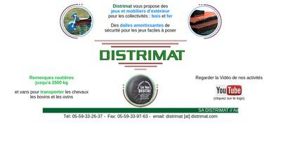 Site internet de Distrimat