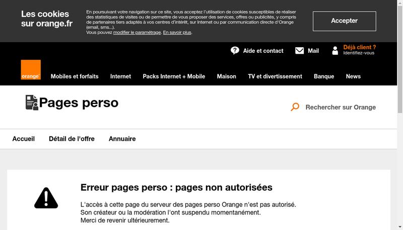 Capture d'écran du site de Dkart
