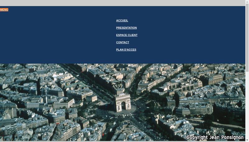 Capture d'écran du site de Cabinet Dolleans