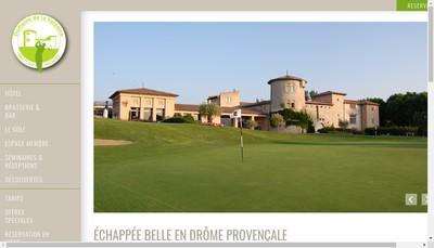 Site internet de Golf de la Valdaine