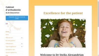 Site internet de Docteur Stella Alexandrian