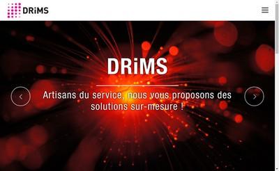 Site internet de Drims