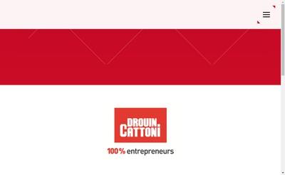 Site internet de Drouin Cattoni SA