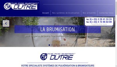 Site internet de Dutrie SA