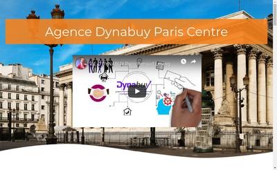 Site internet de Dynabuy Paris Centre