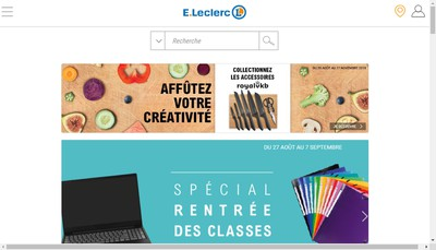 Site internet de Lure Distribution