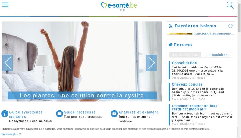Capture d'écran du site de Planet Publishing