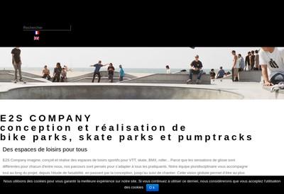 Site internet de E2S Company