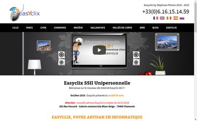 Site internet de Easyclix