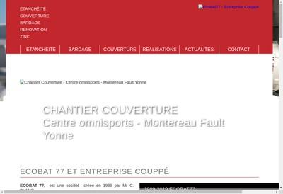 Site internet de Ecobat 77