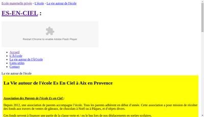 Site internet de Ecole Es-en-Ciel