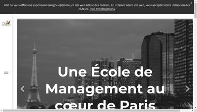 Site internet de Ecole Pégase Paris