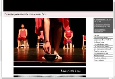 Site internet de L'Ecole du Jeu - Delphine Eliet
