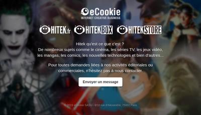 Site internet de Ecookie