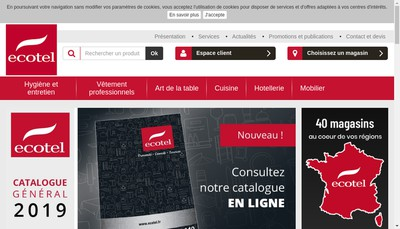 Site internet de SARL Espace Chr
