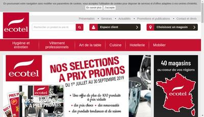 Site internet de Pyrenees Equipement Hotelier