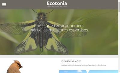 Site internet de Ecotonia