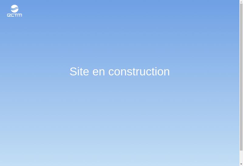 Capture d'écran du site de Expertise Controle Travaux Maritimes