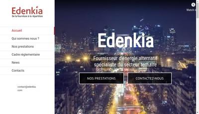 Site internet de Edenkia