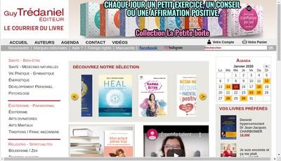 Site internet de Editions de la Maisnie
