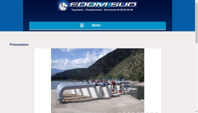 Site internet de Edom Sud