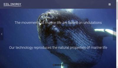 Site internet de Eel Energy