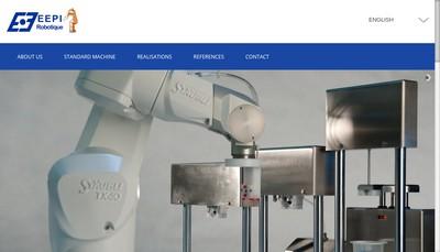 Site internet de Europ Engineerin Productique Informatiq