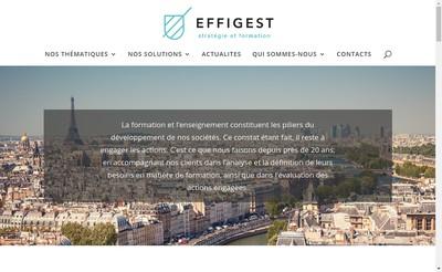 Site internet de Effigest Formation