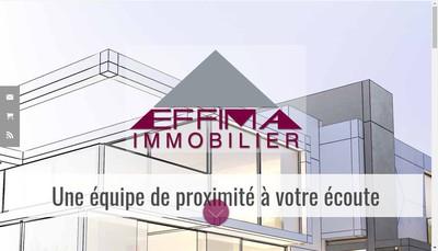 Site internet de Effima