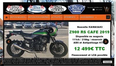 Site internet de SARL Elite Moto 15
