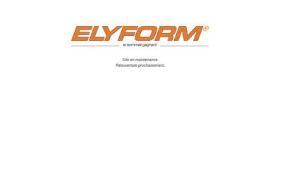 Site internet de Elyform