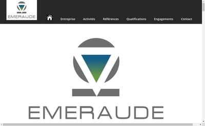 Site internet de Emeraude SAS