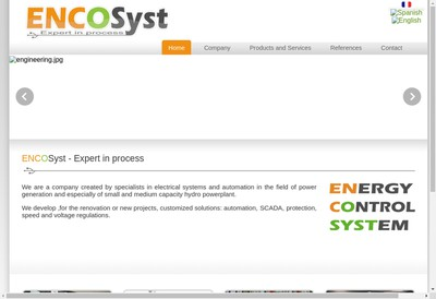 Site internet de Encosyst