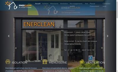 Site internet de Enerclean