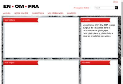 Site internet de Ingenierie Omnitechnique Francaise