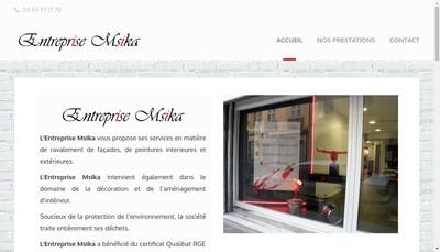 Site internet de Msika D