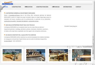 Site internet de Morandini