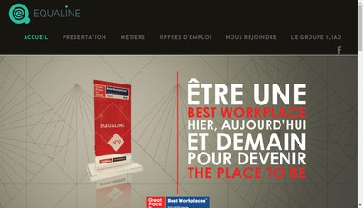Site internet de Equaline