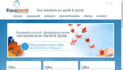 Site internet de Equasante