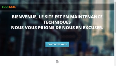 Site internet de Equitaxe