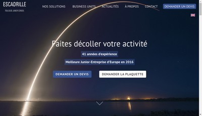 Site internet de ESCadrille