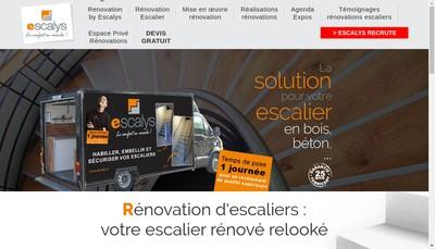Site internet de Escalcom