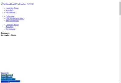 Site internet de Plasse