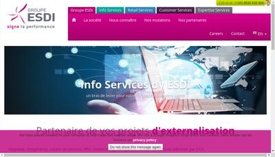 Site internet de Esdi European Line