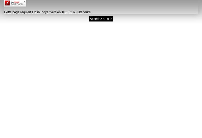 Capture d'écran du site de Espaces et Commerces