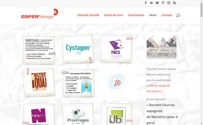 Site internet de Esper'Design