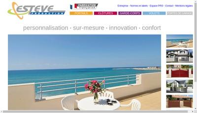 Site internet de Esteve Production