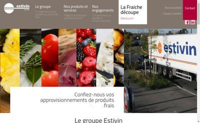Site internet de Estivin Groupe Holding Finance